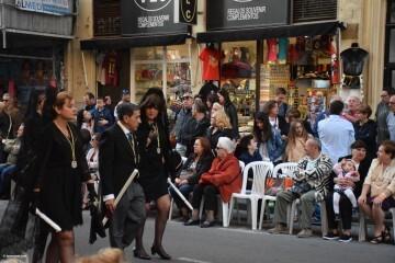 Procesión general por las calles del centro de Valencia en honor a la Virgen de los Desamparados (133)