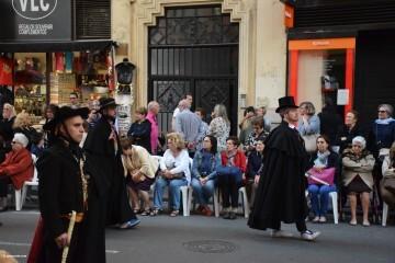 Procesión general por las calles del centro de Valencia en honor a la Virgen de los Desamparados (137)