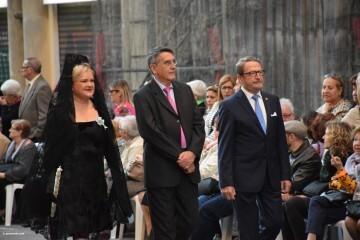 Procesión general por las calles del centro de Valencia en honor a la Virgen de los Desamparados (140)