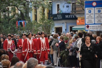 Procesión general por las calles del centro de Valencia en honor a la Virgen de los Desamparados (142)