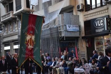 Procesión general por las calles del centro de Valencia en honor a la Virgen de los Desamparados (148)