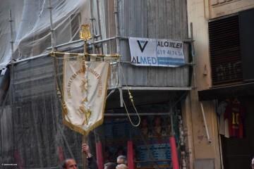 Procesión general por las calles del centro de Valencia en honor a la Virgen de los Desamparados (149)