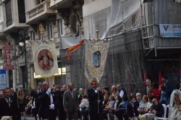 Procesión general por las calles del centro de Valencia en honor a la Virgen de los Desamparados (151)