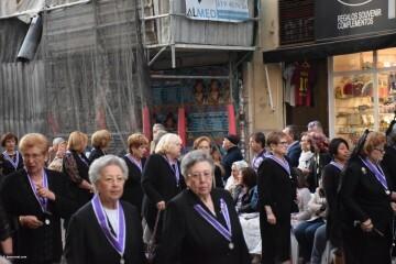 Procesión general por las calles del centro de Valencia en honor a la Virgen de los Desamparados (156)