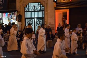 Procesión general por las calles del centro de Valencia en honor a la Virgen de los Desamparados (159)