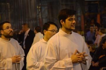 Procesión general por las calles del centro de Valencia en honor a la Virgen de los Desamparados (163)