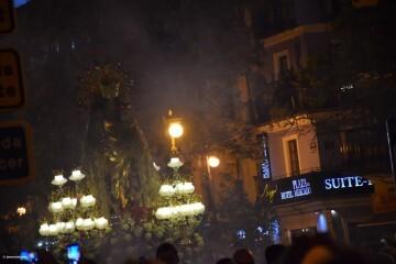 Procesión general por las calles del centro de Valencia en honor a la Virgen de los Desamparados (166)