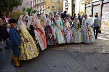 Procesión general por las calles del centro de Valencia en honor a la Virgen de los Desamparados (19)