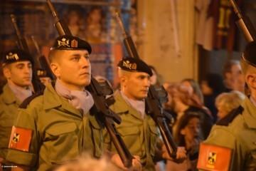 Procesión general por las calles del centro de Valencia en honor a la Virgen de los Desamparados (209)
