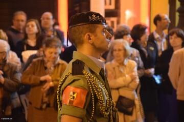 Procesión general por las calles del centro de Valencia en honor a la Virgen de los Desamparados (210)