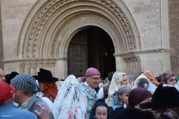 Procesión general por las calles del centro de Valencia en honor a la Virgen de los Desamparados (38)
