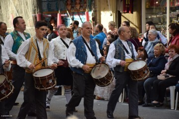 Procesión general por las calles del centro de Valencia en honor a la Virgen de los Desamparados (42)