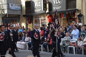 Procesión general por las calles del centro de Valencia en honor a la Virgen de los Desamparados (44)