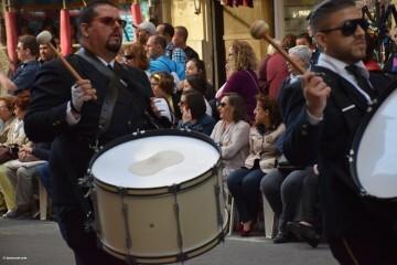 Procesión general por las calles del centro de Valencia en honor a la Virgen de los Desamparados (47)
