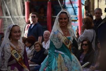 Procesión general por las calles del centro de Valencia en honor a la Virgen de los Desamparados (66)