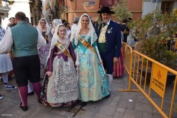 Procesión general por las calles del centro de Valencia en honor a la Virgen de los Desamparados (7)