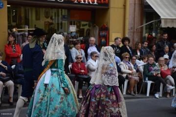 Procesión general por las calles del centro de Valencia en honor a la Virgen de los Desamparados (73)