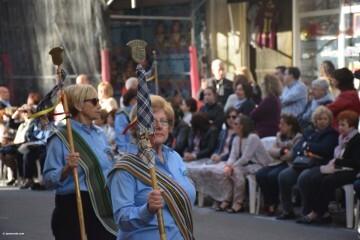 Procesión general por las calles del centro de Valencia en honor a la Virgen de los Desamparados (74)