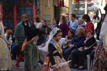 Procesión general por las calles del centro de Valencia en honor a la Virgen de los Desamparados (81)