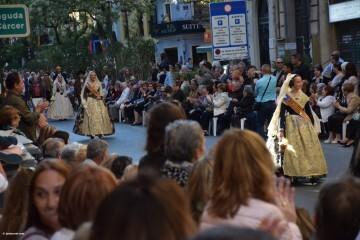 Procesión general por las calles del centro de Valencia en honor a la Virgen de los Desamparados (90)