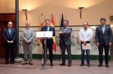 Puig asegura que el objetivo de la Generalitat es generar un escenario de diálogo social con las empresas valencianas.