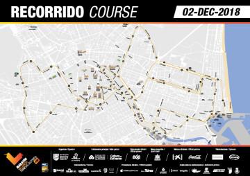 Recorrido Maratón Valencia Trinidad Alfonso EDP 2018