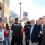 Los taxistas protestan contra Ximo Puig y la Nueva Ley del Taxi a las puertas del Palau de la Música