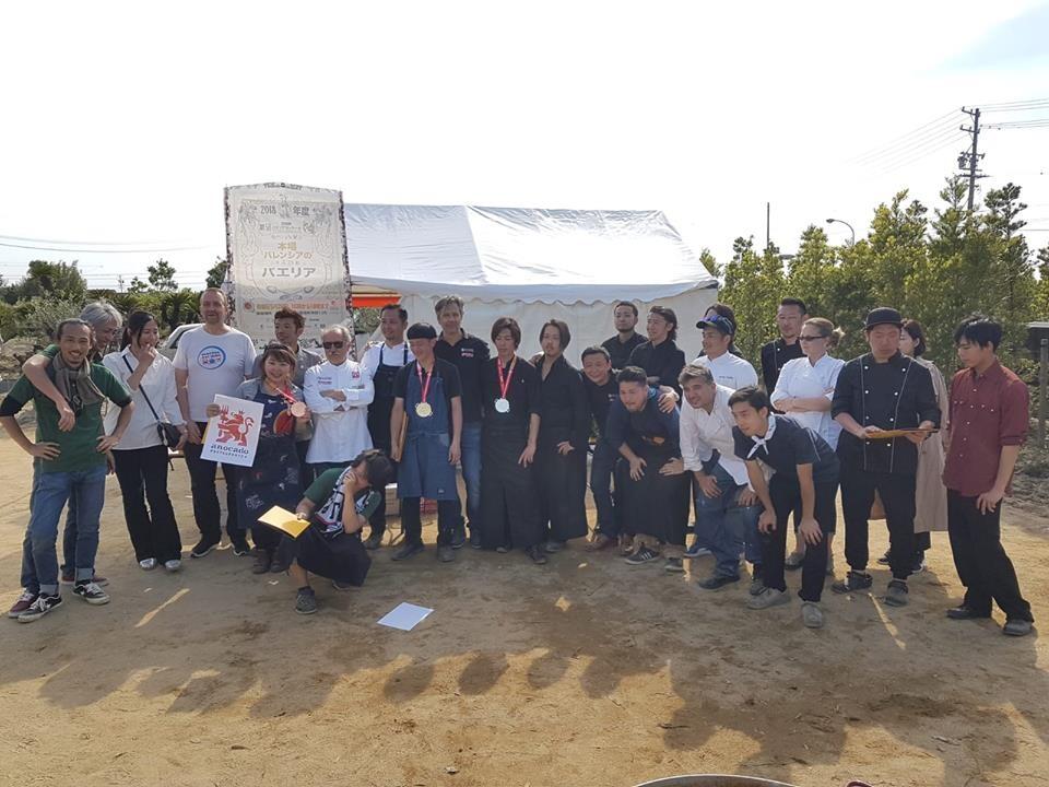 Un lustro de paellas en Japón con el Concurs de Sueca concursants_japo (1)