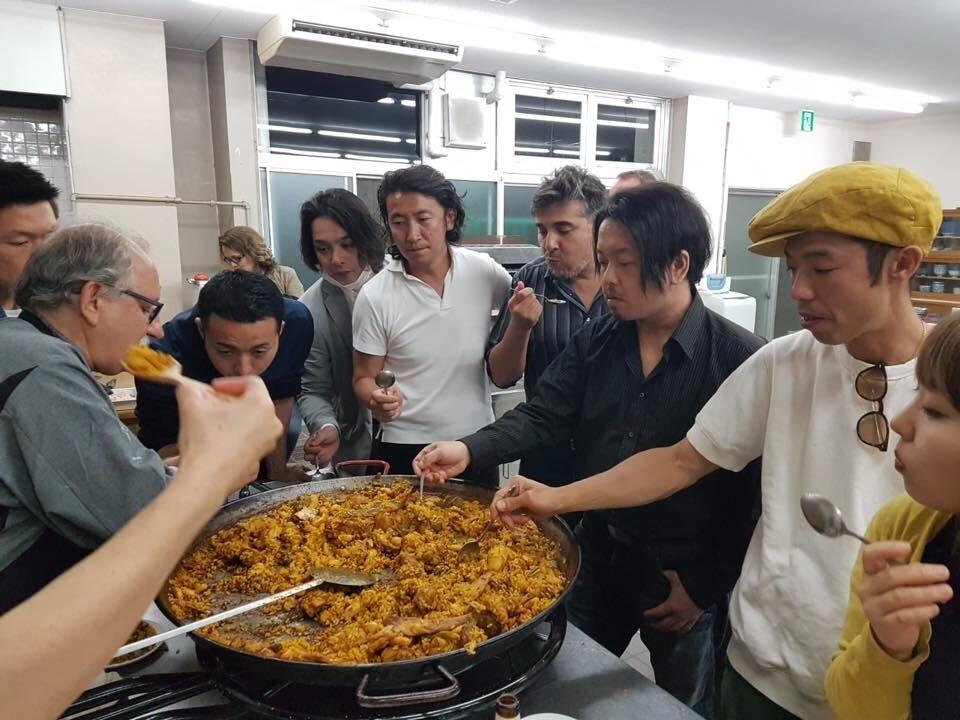 Un lustro de paellas en Japón con el Concurs de Sueca concursants_japo (3)