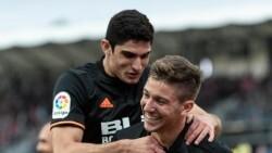 Valenc Celebracion gol de Vietto