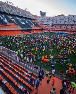 Volta a Peu Fundació Valencia CF.