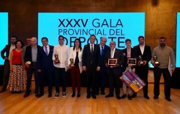 XXXV edición de los Premios Provinciales del Deporte (1)