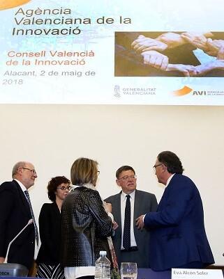 Ximo Puig presidió este acto que ha tenido lugar en la Ciudad de la Luz de Alicante.