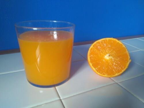 Zumo de naranja variedad Navy