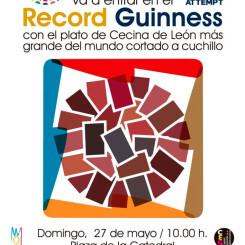 León intentará superar el récord Guinnessdel plato de cecina más grande del mundo