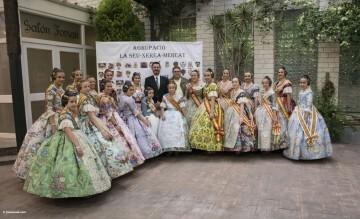 exaltación de las falleras mayores de la Agrupación La Seu-Xerea-El Mercat (70)