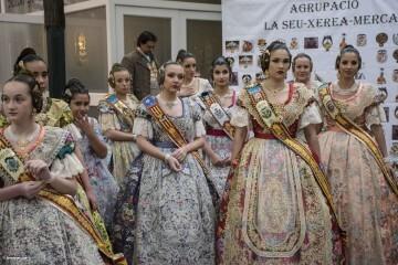 exaltación de las falleras mayores de la Agrupación La Seu-Xerea-El Mercat (71)