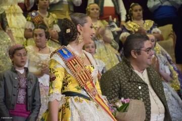 exaltación de las falleras mayores de la Agrupación La Seu-Xerea-El Mercat (83)