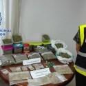 Cae en Dénia un punto negro de droga que se camuflaba tras una asociación de cannabis