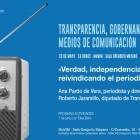 Ana Pardo retoma el ciclo de conferencias de Transparencia y Medios organizado por la Diputació