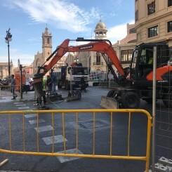 El Mercado Central informa sobre la accesibilidad al Mercado durante las obras del aparcamiento Plaza de Ciudad de Brujas