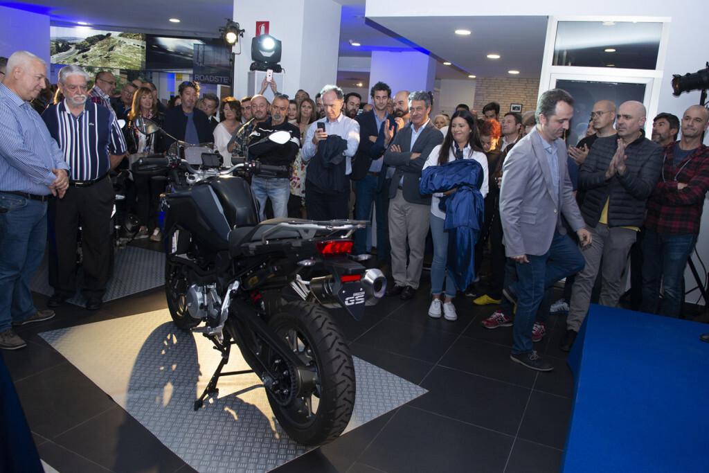 representante BMW Motorrad España destapa nuevo modelo