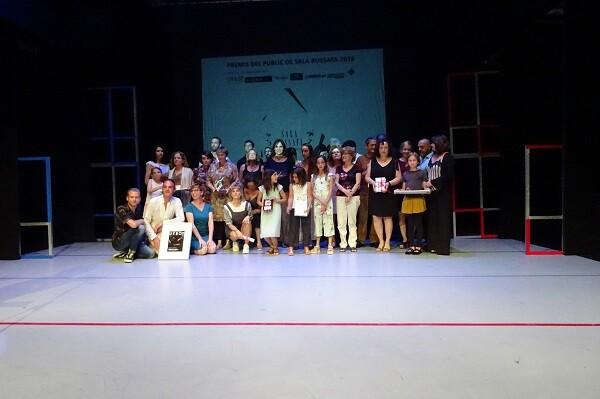 'Flores azules', Millor Espectacle Valencià y 'Distancia 7 minutos', Millor Espectacle Nacional en los VII Premios del Público de Sala Russafa.