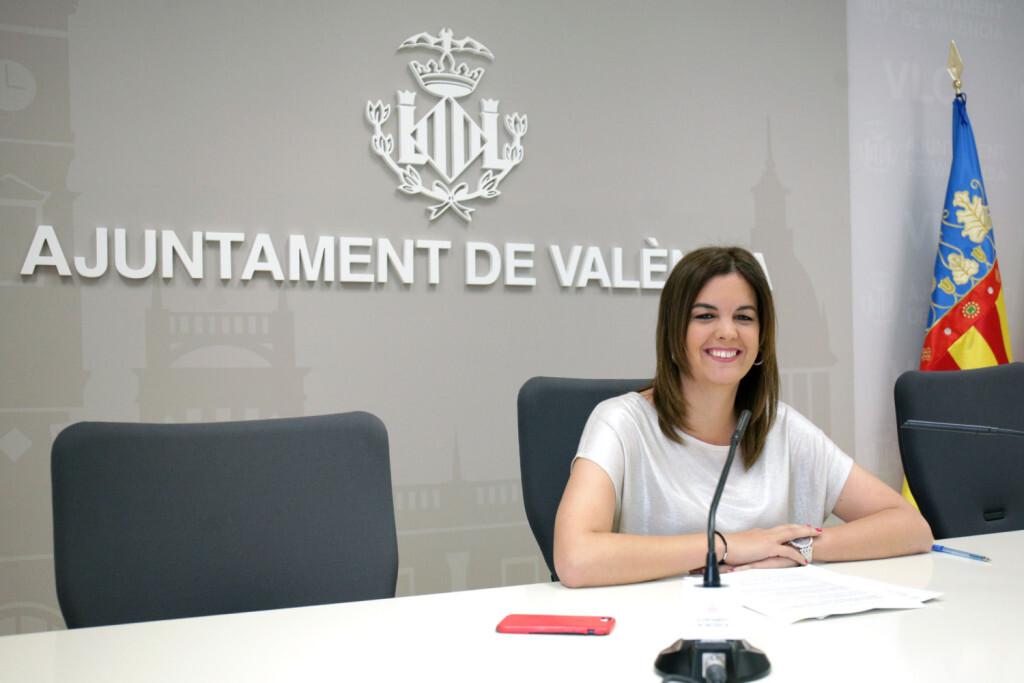 VALENCIA  2018-06-08  Junta de Gobierno Local Rueda de prensa Sandra G—mez