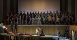 """Ensayo pre general de la ópera """"La Clemenza di Tito"""" de Wolfgang Amadeus Mozart. Palau de Les Arts. 21-6-2018. Valencia Fotografías: Miguel Lorenzo / Mikel Ponce"""