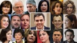 4625860 Pedro Sanchez y Todos los ministros
