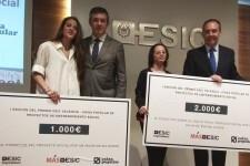 ESIC y Caixa Popular entregan el premio de Proyectos de Emprendimiento Social.