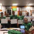 Encierro delegados de prisiones CSIF