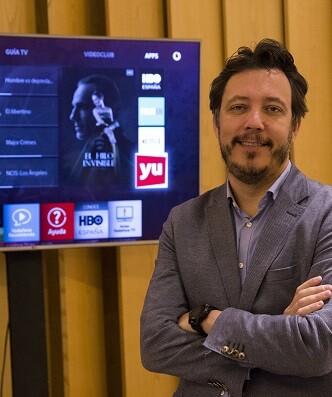 Ignacio Garcia-Legaz director de Vodafone TV