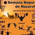 La I Semana Deportivo Cultural de Natzaret ofrece actividades gratuitas para todas las edades.